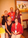Me (Jen), Matt, Ruth, Debra & Theresa