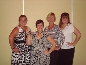 Jen, Theresa, Debra & Ruth